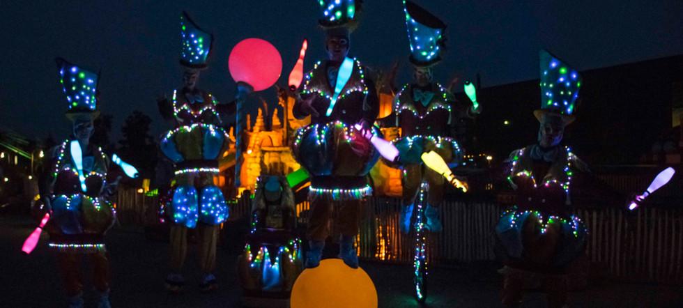 Circo di Strada by Night Toverland Light