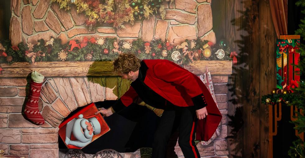 Magic Christmas Show Goochelaar Kerst Vo