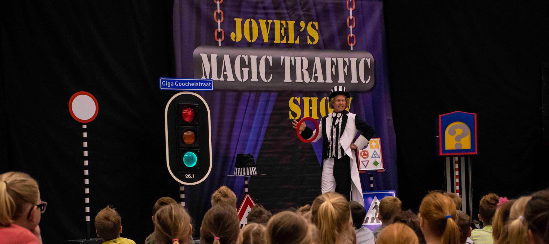 voorstelling verkeer thema kindervoorstelling kindershow schoolvoorstelling verkeersdag verkeersweek