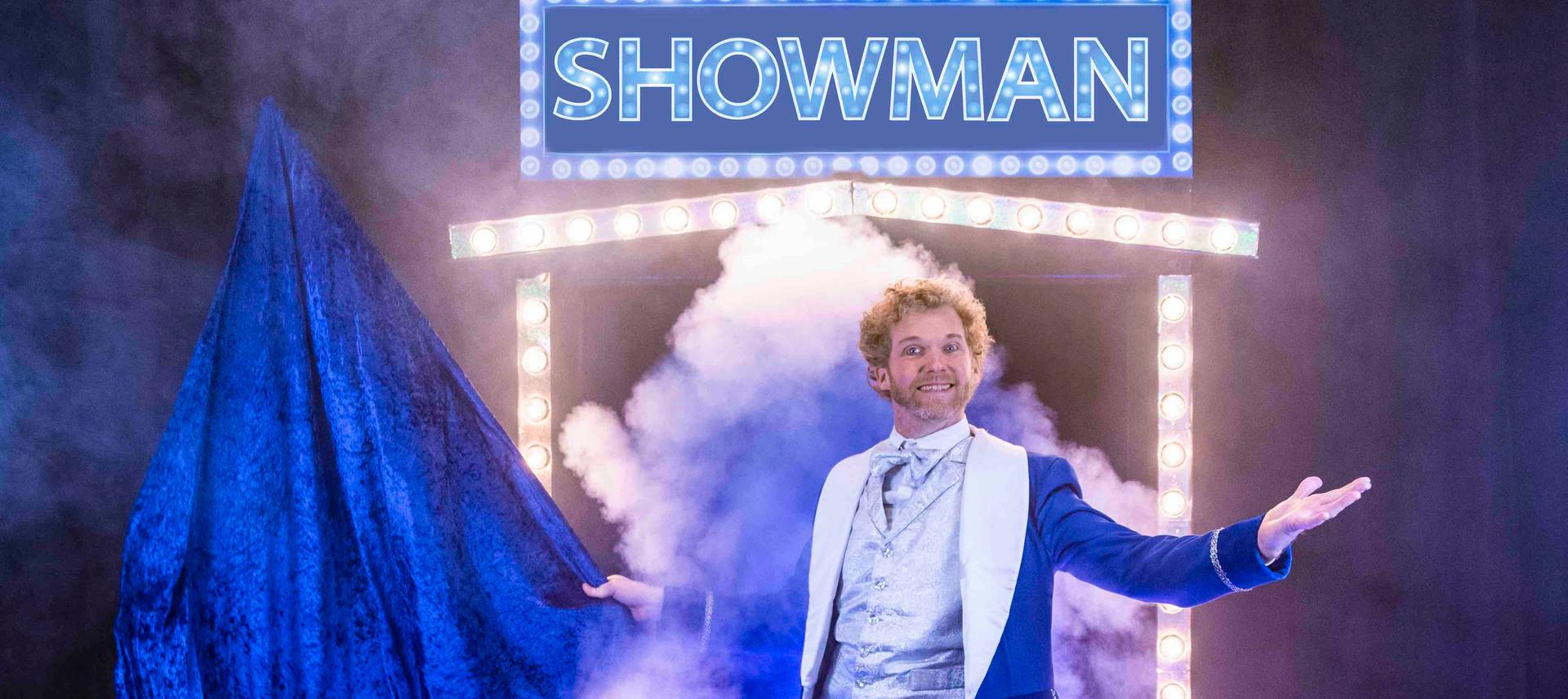 Showman opening act show openinsact open