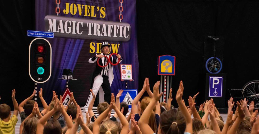 voorstelling thema verkeer kinderen show