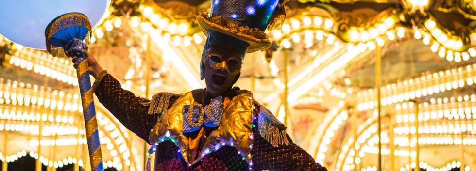 Circo di Strada by Night Lights Stilltwa