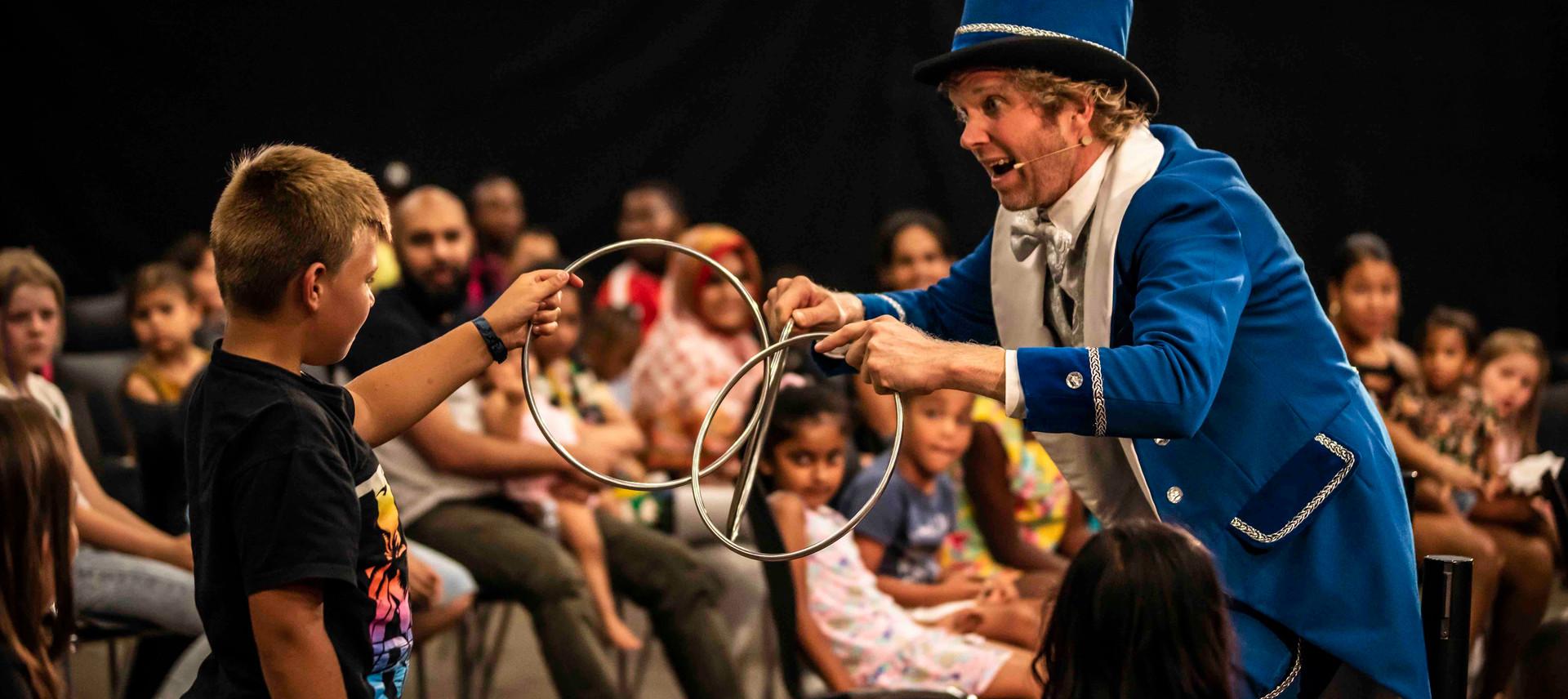 goochelaar kinderfeest goochelshow kinde