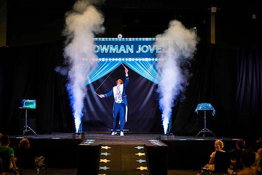 Showman theater voorstelling kindershow
