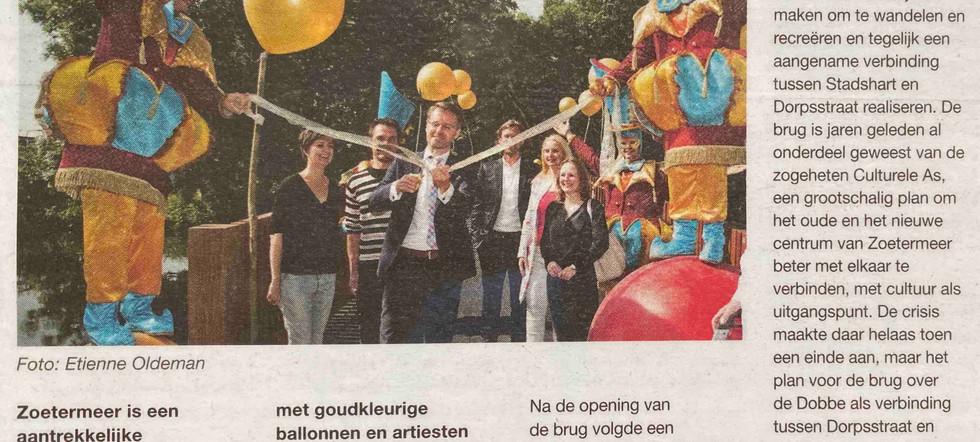 Opening Nicolaas Brus Zoetermeer Circus