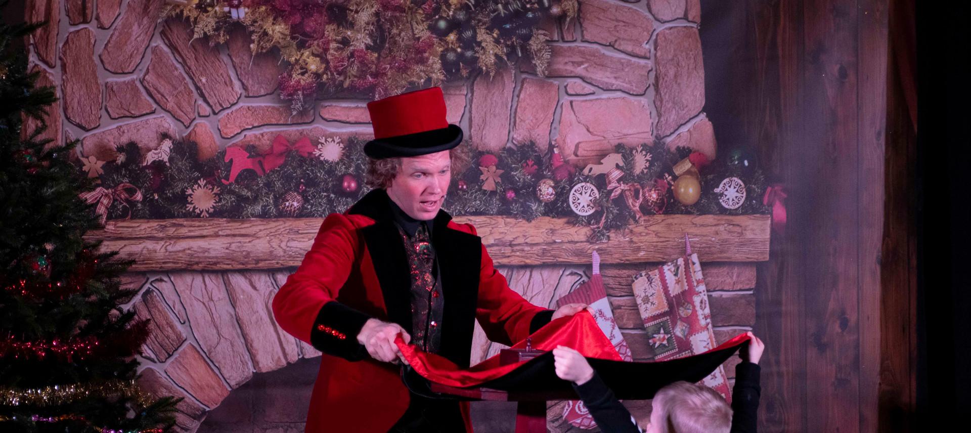 Magic Christmas Show schoolvoorstelling