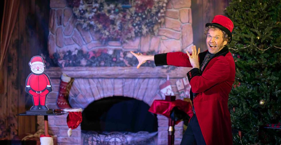 Showman Jovel Goochelaar Kerst Kerstfees