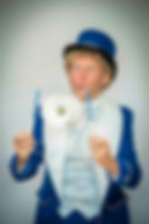Goochelaar showman Jovel kinderfeest kin