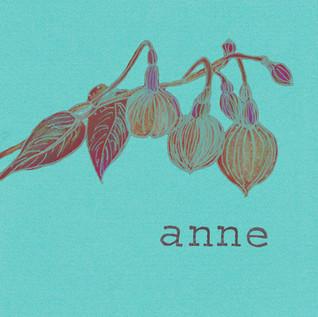 Geboortekaartje Anne