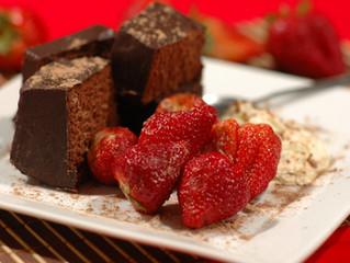 Complement romantic strawberries with a unique flavor