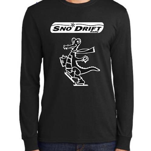 Black Ralligator Long Sleeve T-Shirt