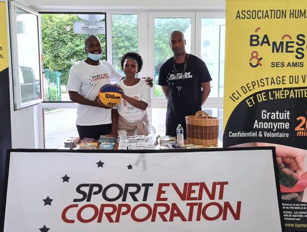 Tournoi de basket 3X3 à Stains avec Sport Event Corporation