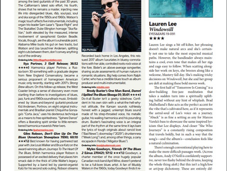 """Windowsill"" Reviewed in DOWNBEAT Magazine January 2020"