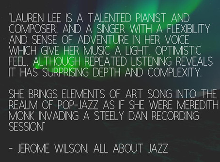 Great New Review in All About Jazz!