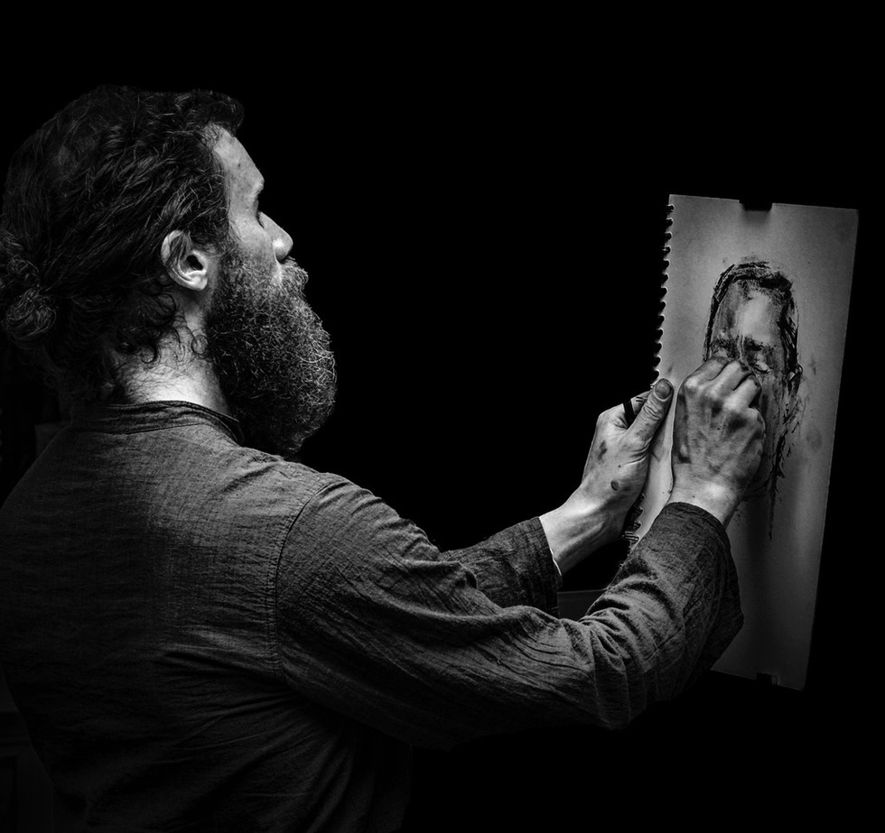 PDI - The Artist by J Devine (10 marks)