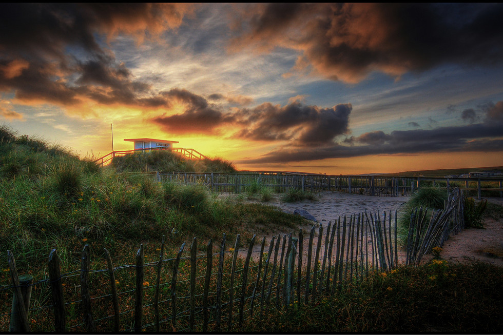 COLOUR - sunset in donegal by g cassidy (5 marks)