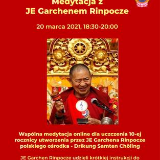 Medytacja z JE Garchenem Rinpocze