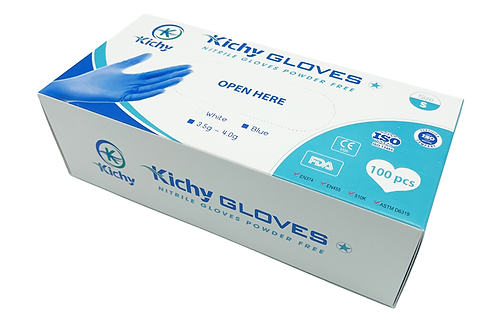 Kichy Nitrile Medical Gloves