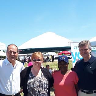Jim V., MP Peter B., Nancy H., Patrice B. (trustee), Rod P. MP.