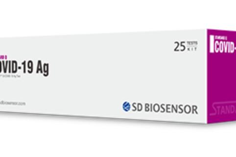 SD Biosensor STANDARD Q COVID-19 Ag (Antigen) Test Kit