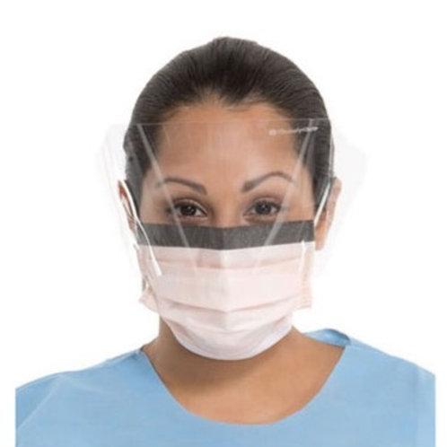 Level 3 Fog-Free Surgical Mask, Anti-Glare Wrap Around Visor