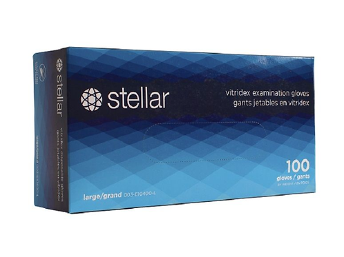 Stellar Vitridex Medical Gloves (PVC and Nitrile Blend)