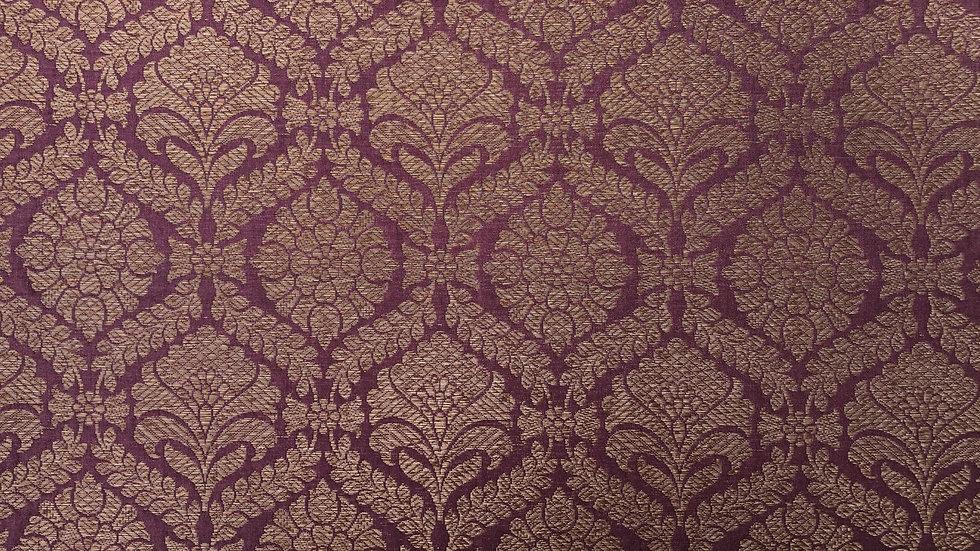 Antique Rose - Handloom Silk Fabric
