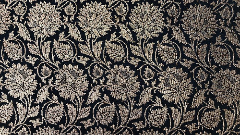 Vintage Marigold - Handloom Silk Fabric
