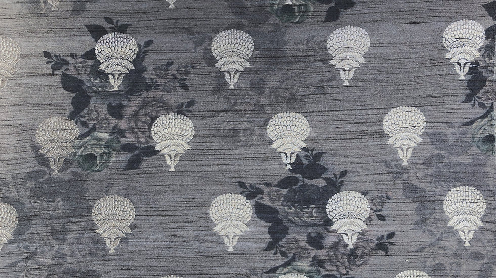 Poppy Palace - Handloom Silk