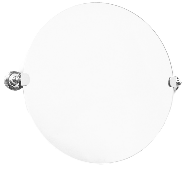 KN6402 Kensington Wall Mounted Round Mirror 500mm