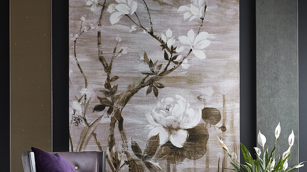 Florence Handwoven Silk Mural Wallpaper