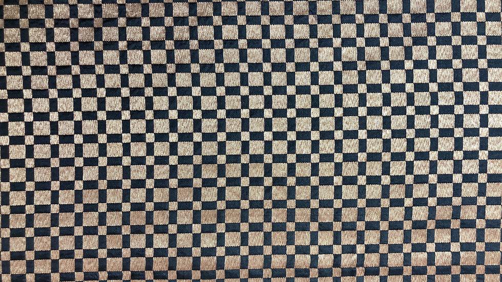 Vintage Check - Handloom Silk
