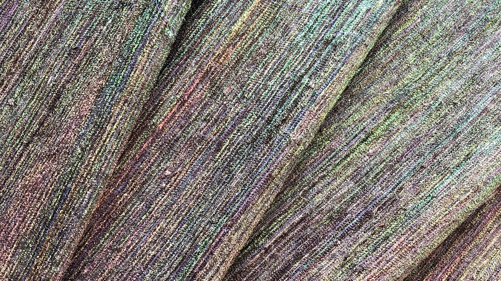 Peacock Feathers - Handloom Silk