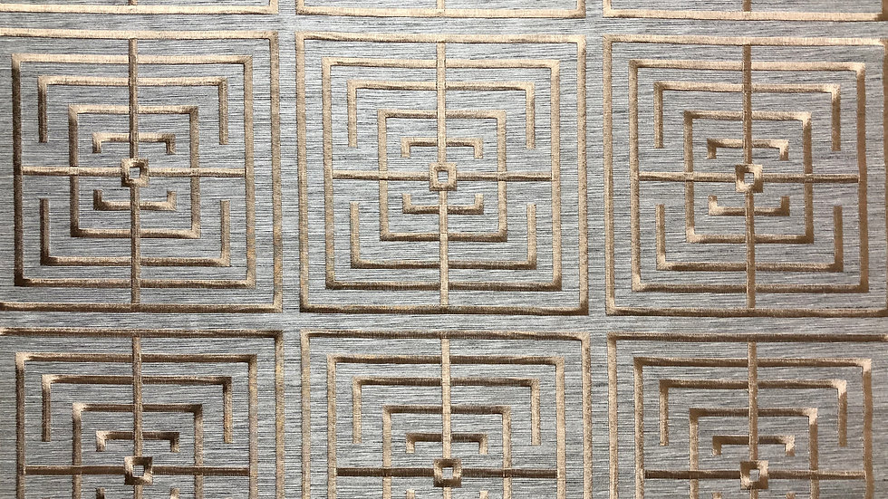Maze Embroidery