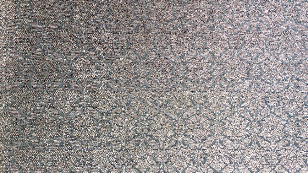 Antique Palme - Handloom Silk Fabric