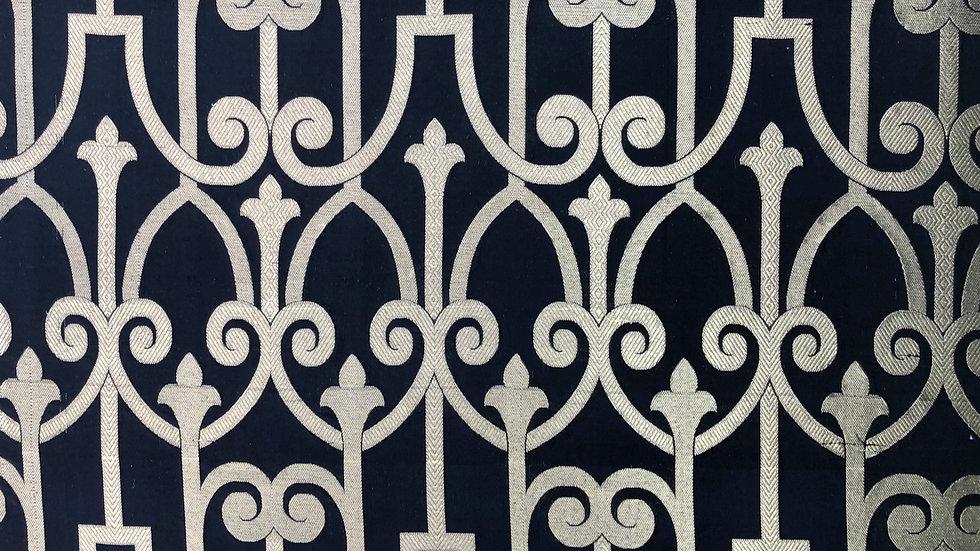 Black Prince - Handloom Silk Fabric