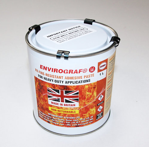 Envirograf - Fire Retardant Ready Mixed Wallpaper Paste