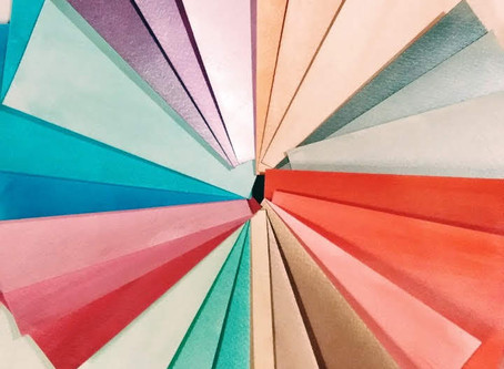 DIY colored cardstock