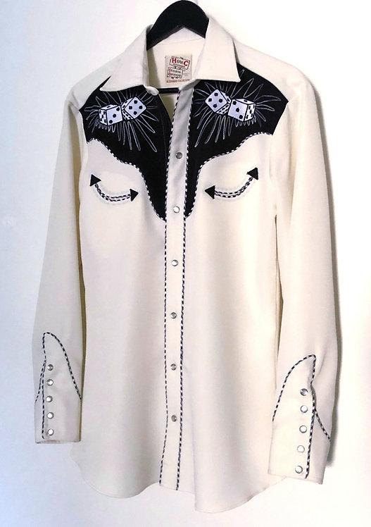Men's Vintage 1970's H Bar C Western Rockabilly Shirt