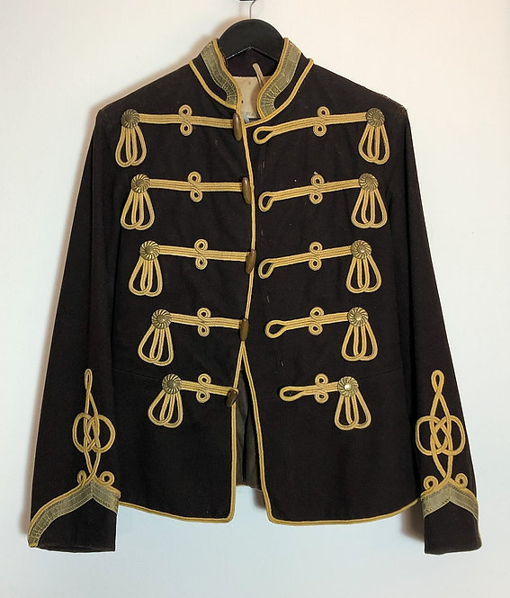 JIMI HENDRIX STYLE ANTIQUE MEN'S MILITARY JACKET FROM EARLY 1900'S