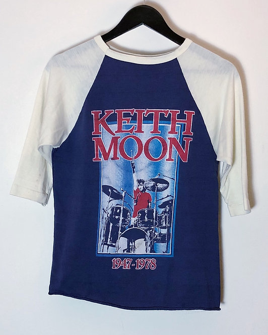 THE WHO-KEITH MOON VINTAGE T-SHIRT FROM 1979