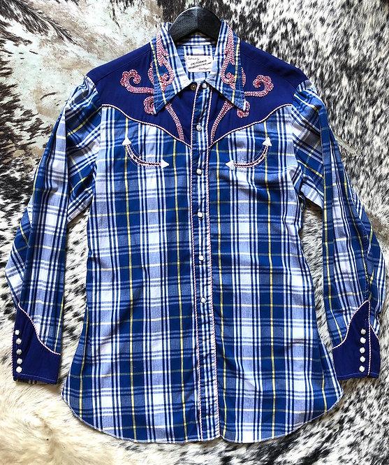 California Ranchwear Plaid Shirt from the 1970's
