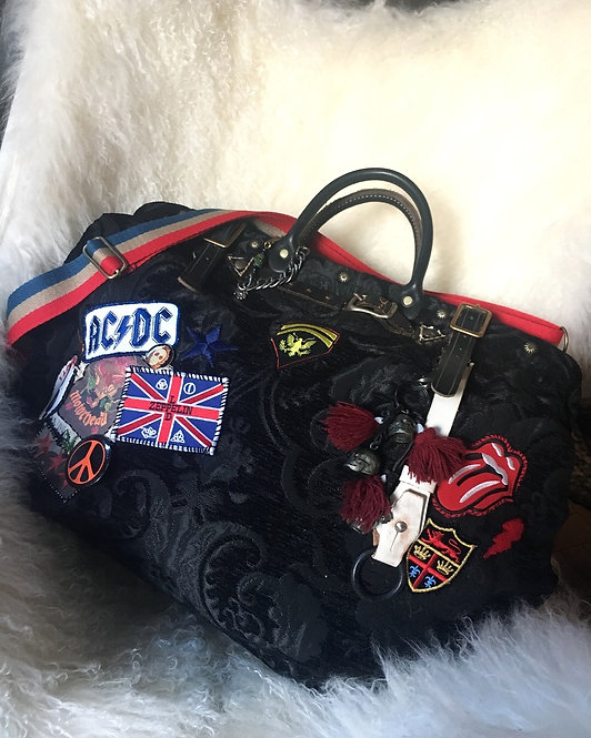 Rockstar On Tour Customized Carpet Bag