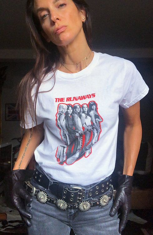 The Runaways Vintage T-shirt from the 1990's