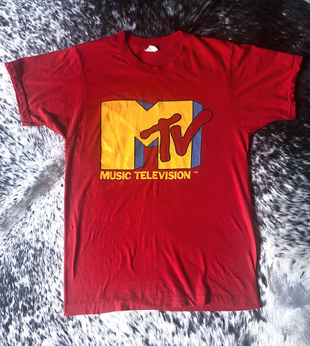 Vintage I Want My MTV T-Shirt from the 1980's