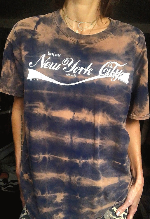 Enjoy New York City Tie Dye T-shirt