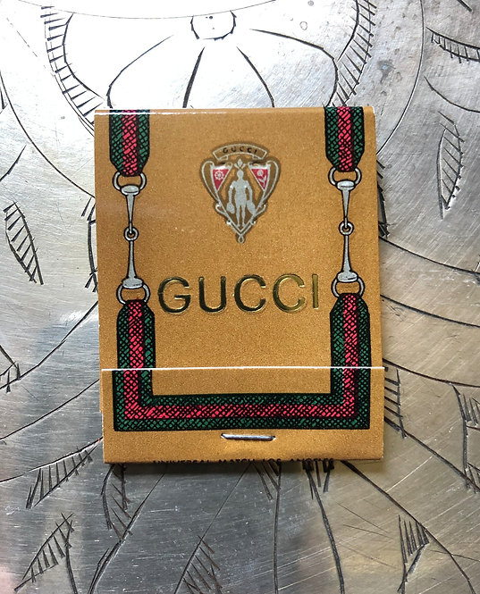 Gucci Matchbook from the 1980's