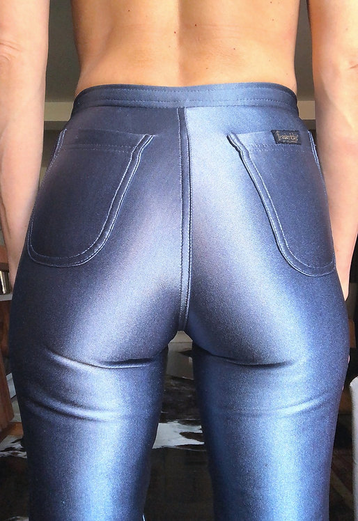 Frederick's of Hollywood Vintage Late 70's/Early 80's Liquid Stretch Pants