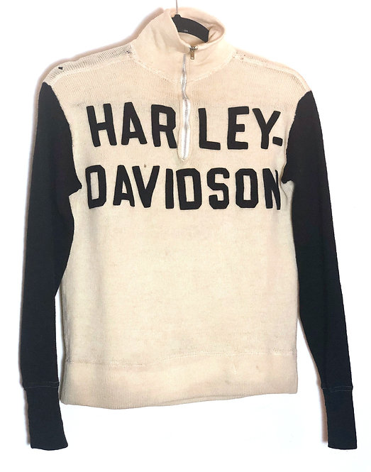 Super Rare Harley-Davidson Racing Jersey from 1920's/30's