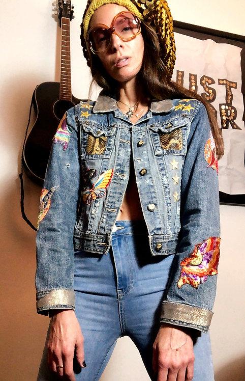Denim Jacket Customized by Rock Redux